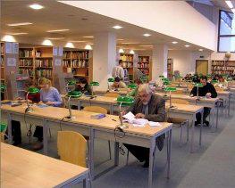 Biblioteka Główna UPH w Siedlcach - Czytelnie